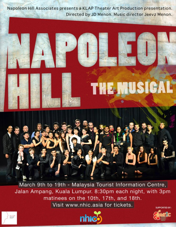 Napoleon Hill Musical Poster